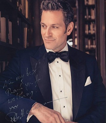 peter hermann young - autographed photo