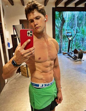 tom prior underwear peekabo - selfie