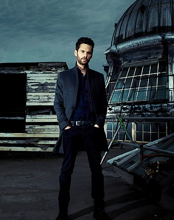 tom riley hot in long coat