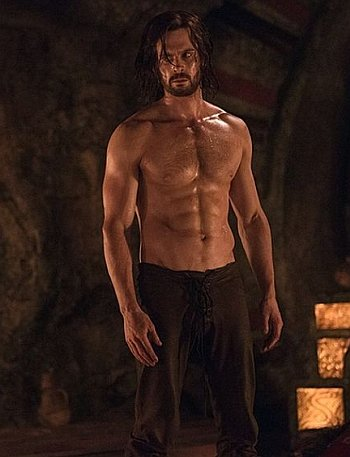 tom riley shirtless body