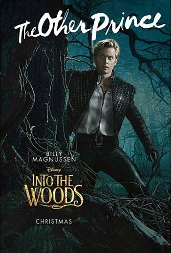 Billy Magnussen leather pants into the woods2