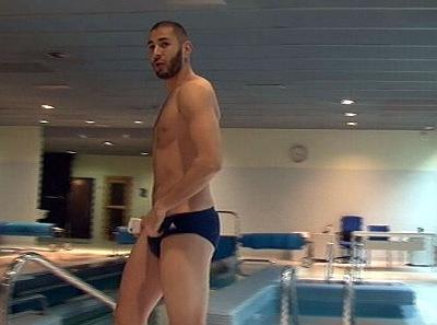 Karim Benzema speedo hunk