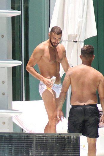 Karim Benzema underwear briefs