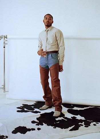 Kelvin Harrison Jr model