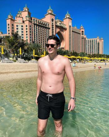 alex george shirtless body