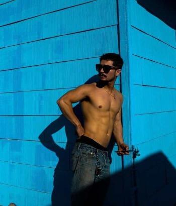 augusto aguilera shirtless body
