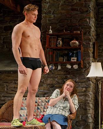 billy magnussen underwear as spike in Vanya and Sonia and Masha and Spike2