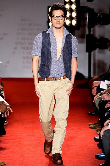 hot asian men tony chung runway model
