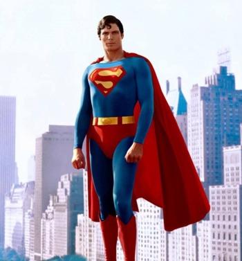 hot vintage men christopher reeve superman 1978