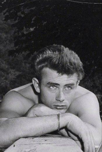 hot vintage men - james dean