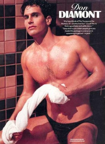 hot vintage men speedo don diamont young and the restless