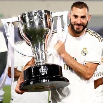 karim benzema la liga champion