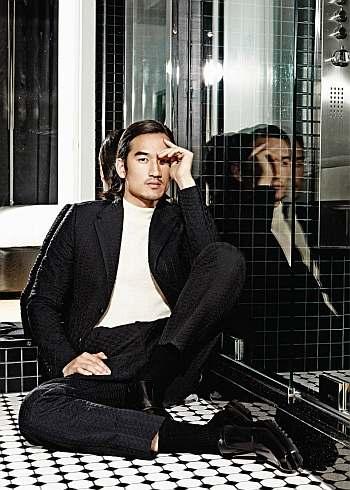 tony chung hot asian male model
