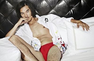 tony chung underwear model