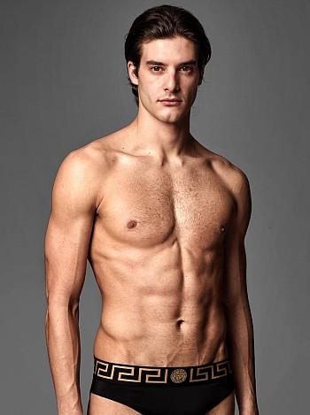 versace mens underwear models 2021 - george lovatin @georgelovati