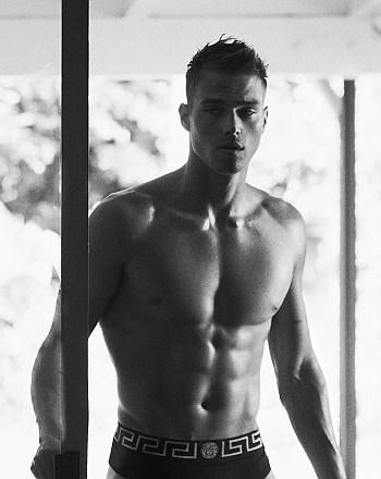 versace mens underwear models matthew noszka