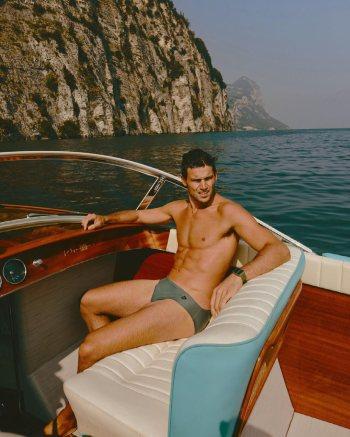 young men in speedo Giacomo Cavalli