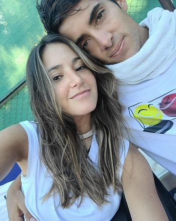 Cristian Garin girlfriend Melanie Goldberg Zwanzger