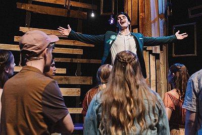 Joseph Spanti actor - jack frost musical