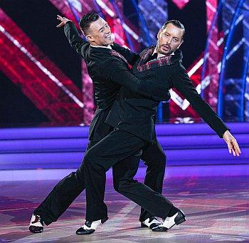 Kai Widdrington dance with Brian Dowling Gourounlian on DWTS Ireland