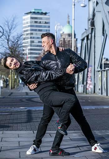 Kai Widdrington male dance partner Brian Dowling