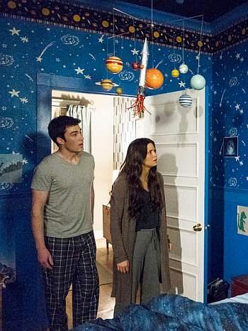 Levi Fiehler girlfriend or wife in resident alien Meredith Garretson as Kate