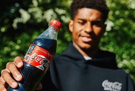 Marcus Rashford endorsement coca cola