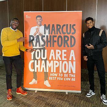 Marcus Rashford endorsement macmillan