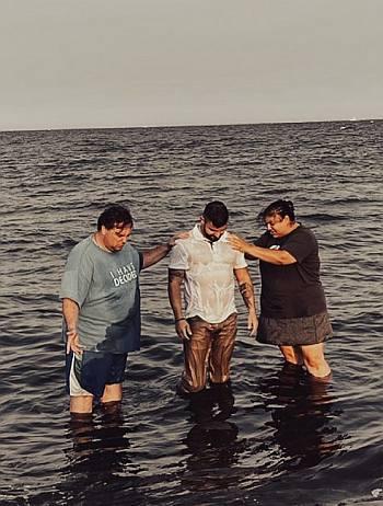 Matt Pappadia christian baptism born again