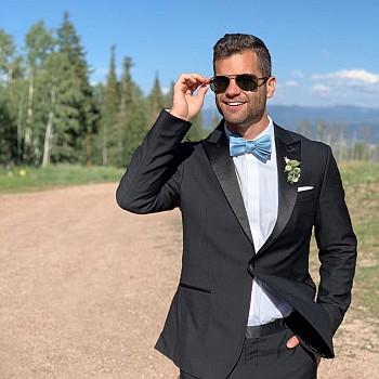 Nick Uhlenhuth hot in suit wedding