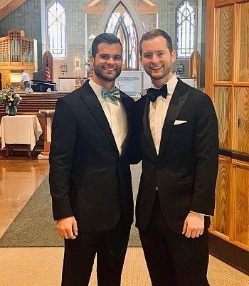 Nick Uhlenhuth twin brother wedding