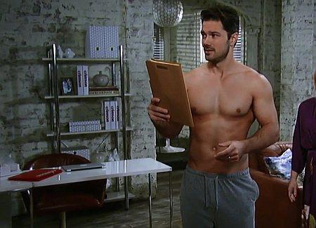 Ryan Paevey hot men in sweatpants