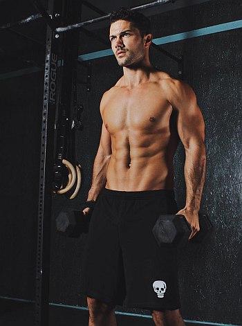 Ryan Paevey hunk in sweatpants