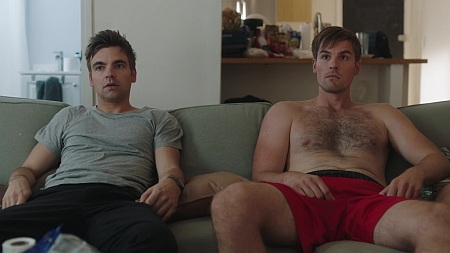 andy ridings gay in the other two with drew tarver