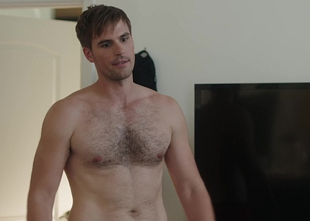 andy ridings shirtless chest hair