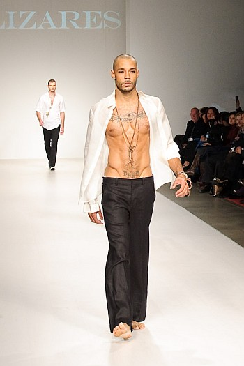 bald male models are hot