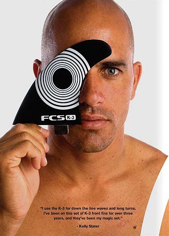 bald male models kelly slater print ads
