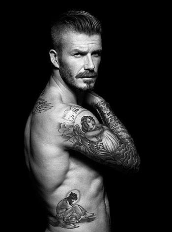 celebrity tattoos david beckham