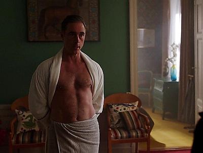 greg wise shirtless body in modus2