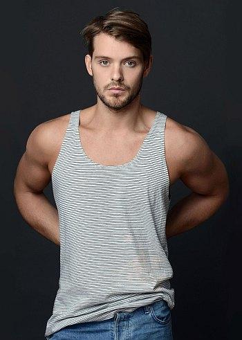 john whaite hot in tank top shirt