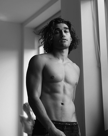 josh heuston shirtless body