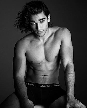 josh heuston underwear - calvin klein boxer briefs