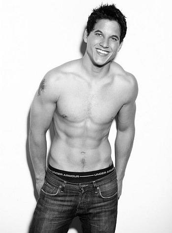 mike manning shirtless abs