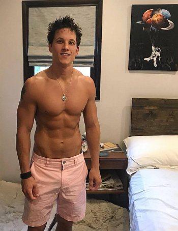mike manning shirtless