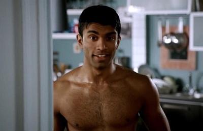 nikesh patel shirtless body in bedlam