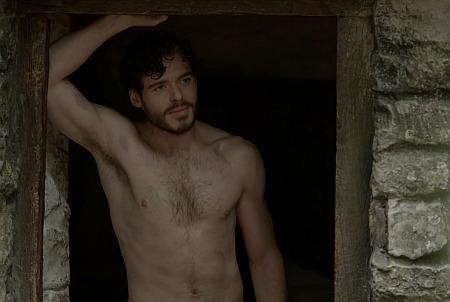 richard madden shirtless in lady chatterleys lover