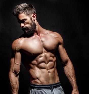 Brant Daugherty muscles