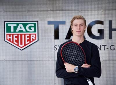 Denis Shapovalov sponsors endorsements tag heuer