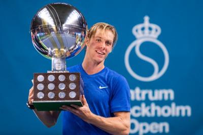 Denis Shapovalov titles - stockholm open