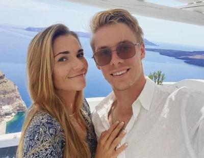 Denis Shapovalov wife or girlfriend Mirjam Bjorklund